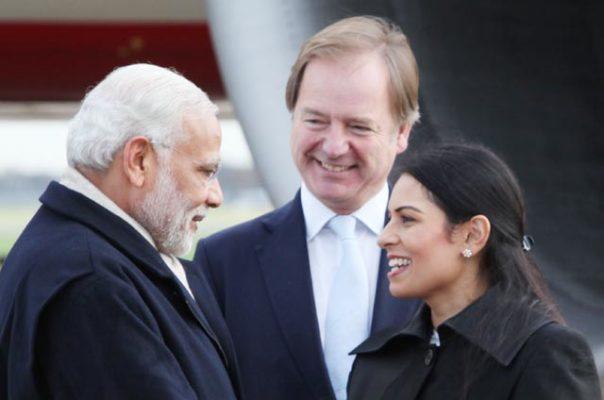 प्रीति पटेल ब्रिटेन की नई गृहमंत्री मोदी की बड़ी प्रशंसक