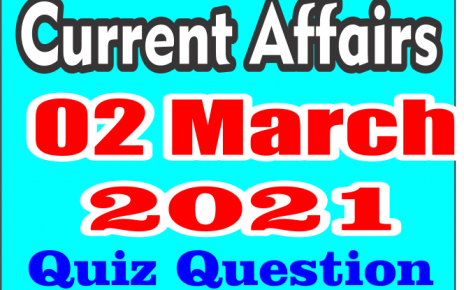 02 March Current Affairs Hindi